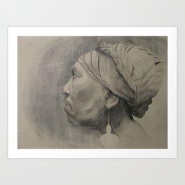 Mother Study Art Print