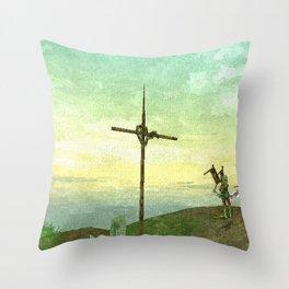 Cross - 交叉 Throw Pillow