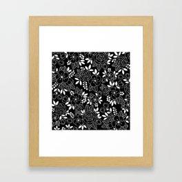 Rosalia Black Framed Art Print