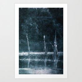 wood on river Art Print