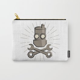 Jolly Robot 01 Carry-All Pouch