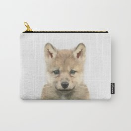 Baby Wolf Carry-All Pouch