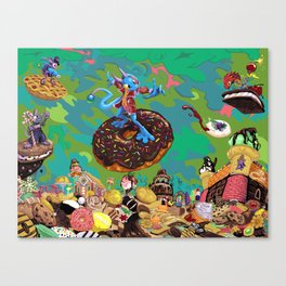 Cholesteronslaught Canvas Print