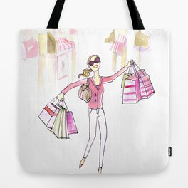 Shopping Spree Tote Bag
