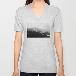 Swiss Alps - v1 Unisex V-Neck