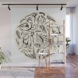 Fantastic Beasts Wall Mural