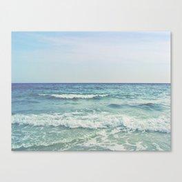 Ocean Crashing Waves Canvas Print