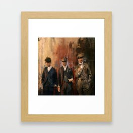 Shelby brothers Framed Art Print