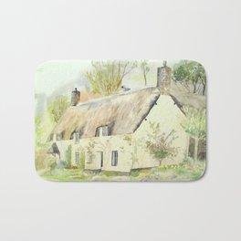 Picturesque Dunster Cottage Bath Mat