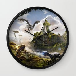 Cardiff [Horizon Zero Dawn] Wall Clock