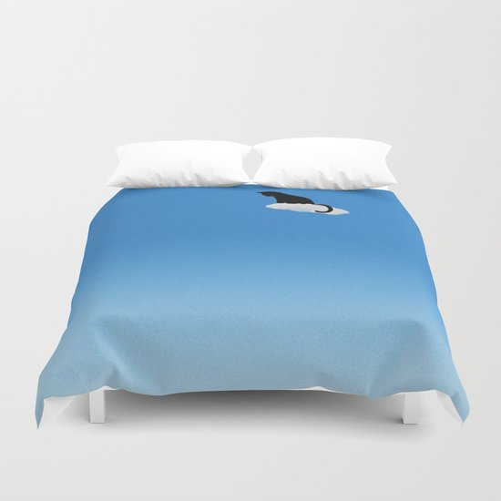 Cat Cloud Duvet Cover