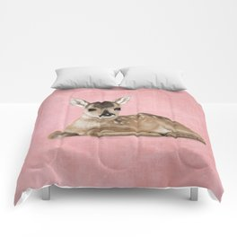 Small fawn Comforters