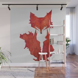Fitz the Fox Wall Mural