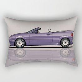 VW Corrado G60 Zender Cabrio Convertible Rectangular Pillow