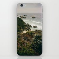 big sur iPhone & iPod Skins featuring Big Sur by Laina Brown