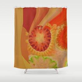 Nontransmittal Sense Flower  ID:16165-112135-50620 Shower Curtain