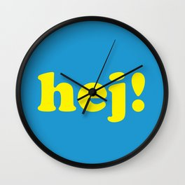 Hej! Wall Clock