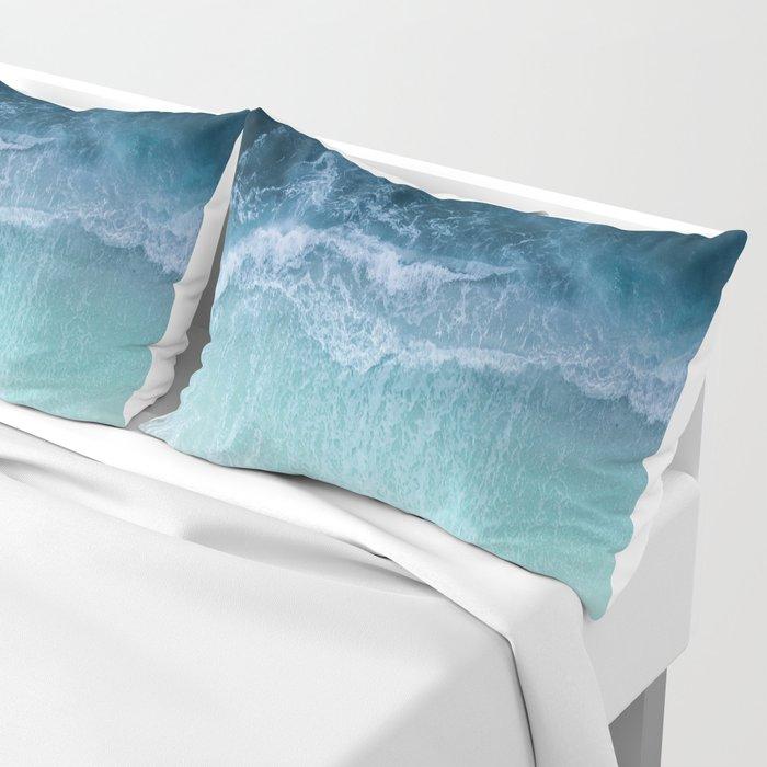 Turquoise Sea Pillow Sham