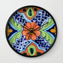 Talavera Ten Wall Clock