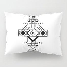 Geometric Device Pillow Sham