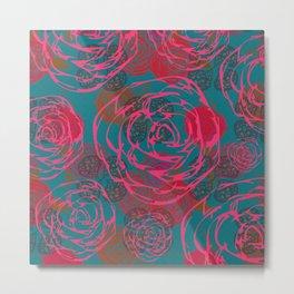 Fleur lala Metal Print
