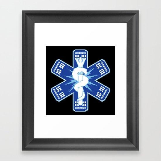 The Doctors Association Framed Art Print
