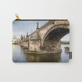 Charles Bridge in Prague Carry-All Pouch