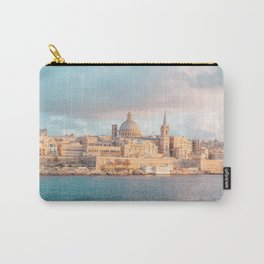 Valletta Sunset Carry-All Pouch