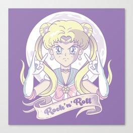 Sailor Moon Rock'n'Roll Canvas Print