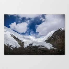 Glaciers of Tibet Canvas Print