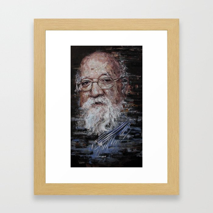 Dennett Framed Art Print