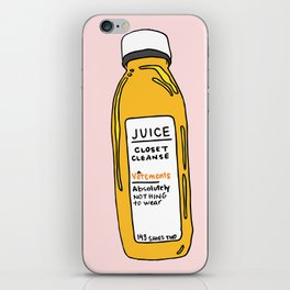 Pressed Juice: Closet Cleanse iPhone Skin
