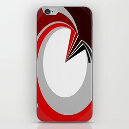 Colours in a circle iPhone Skin