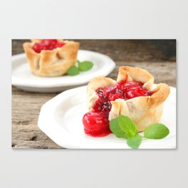 Cherry Tarts II Canvas Print