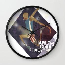 Harlem Globetrotters Wall Clock