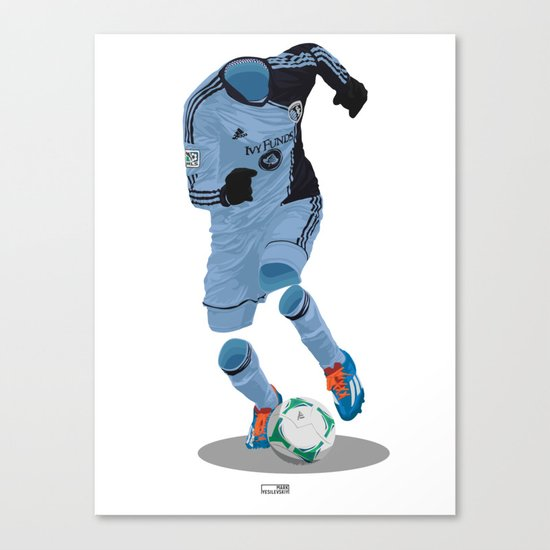 Sporting Kansas City 2013 - MLS Cup Winners Canvas Print