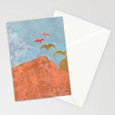Birds Fly Away Stationery Cards