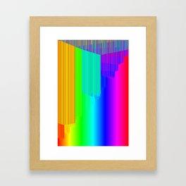 R Experiment 4 (quicksort v2) Framed Art Print