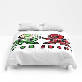 dead green Comforters