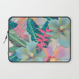 Aqua Ginger Alohas Laptop Sleeve