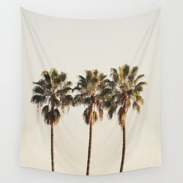 Golden Palms Wall Tapestry
