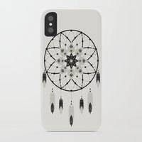 dreamcatcher iPhone & iPod Cases featuring Dreamcatcher by Bohemian Gypsy Jane