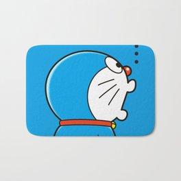 Doraemon Surprised Bath Mat