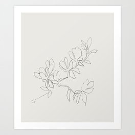 Floral Study no. 4 Art Print