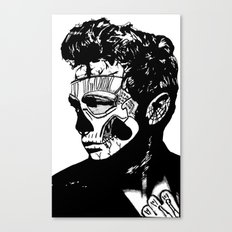 James Dean. Rebel: Zombie. Canvas Print