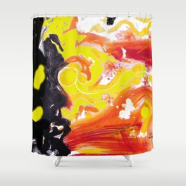 IN A HURRY !                                  by Kay Lipton Shower Curtain