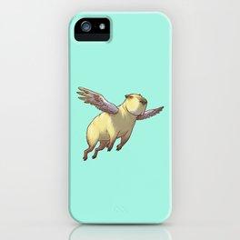 Flying Capybara iPhone Case