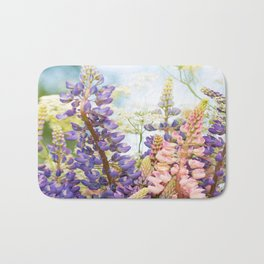 Summer Meadow Bouquet #decor #society6 #homedecor Bath Mat