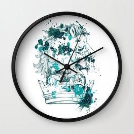 Crown Horse KINGDOM Wall Clock