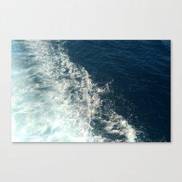 Sea Trails 2 Canvas Print